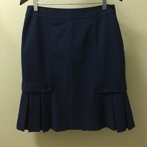 Flirty Navy Skirt by AGB